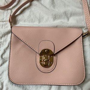 Baby Pink Clutch/Crossbody Bag